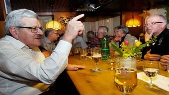 Landammann und Finanzdirektor Roland Brogli: «Wollen Sie mich nach Bern abschieben?» Angelo ZambelLi