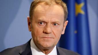 EU-Ratspräsident Donald Tusk hat am Mittwoch in Luxemburg die Leitlinien für die künftige Beziehung mit Grossbritannien präsentiert. Er bietet London lediglich ein Freihandelsabkommen nach dem Brexit an und schliesst einen Sonderstatus des Landes aus.