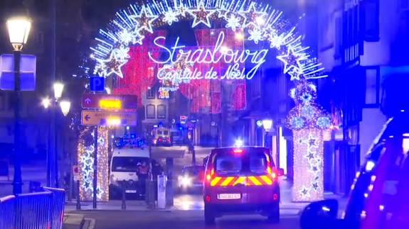 Traurige Weihnachten in Strassburg.