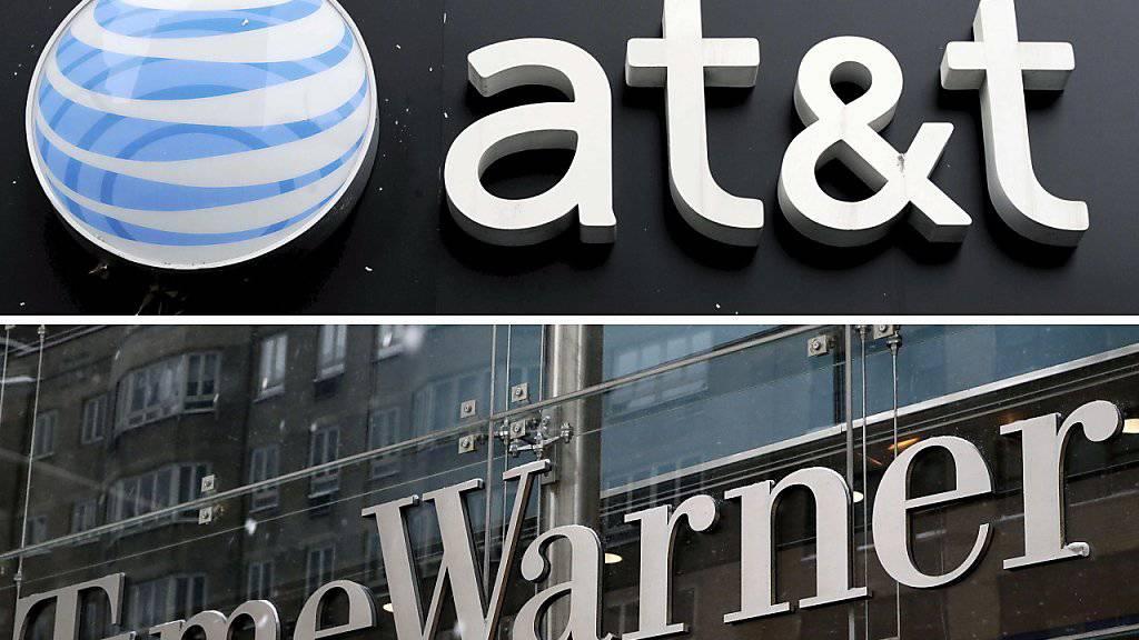 Der US-Telekomriese AT&T hat den Milliarden-Kauf von Time Warner trotz des Widerstands von US-Präsident Donald Trump abgeschlossen. (Archiv)