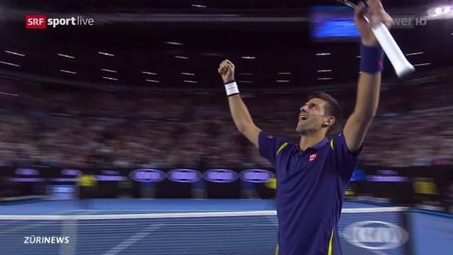 Djokovic zum sechsten