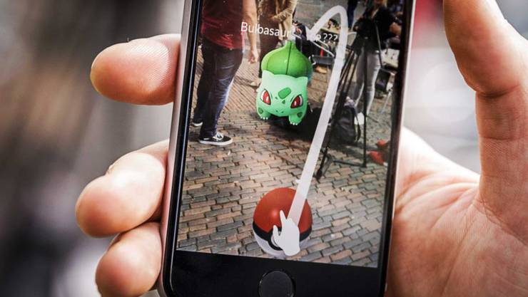 """Das Spiel """"Pokémon Go"""" treibt den Börsenkurs von Nintendo in die Höhe."""
