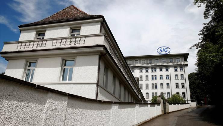 Fünf-Milliarden-Euro-Konzern: SIG-Standort in Neuhausen am Rheinfall Reuters