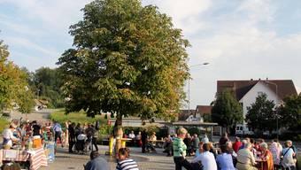 Gemütlichkeit war Trumpf: Kleines Dorffest aus Anlass des 50-jährigen Vereinsbestehens. TR