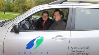 Cornelia Sandmeier und Gabriel Bürgisser leiten das Spitexzentrum.ZVG