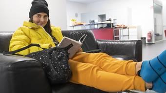 Bianca Andreescu, im Bild während der Fed-Cup-Begegnung gegen die Schweiz im Februar in Biel, ist auch in indian Wells zum Zuschauern verdonnert