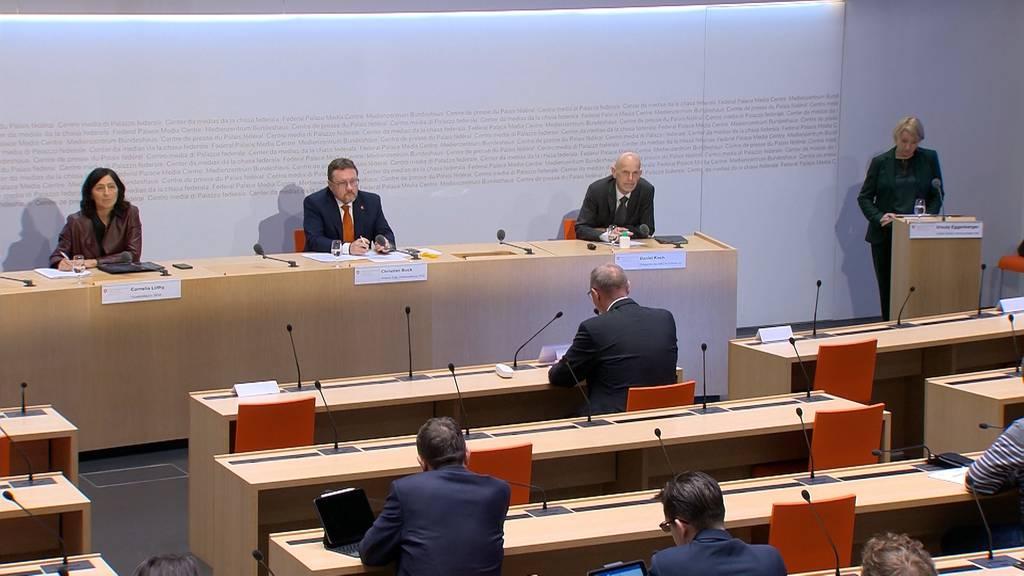 Komplette Pressekonferenz des Bundes vom 11. Mai 2020