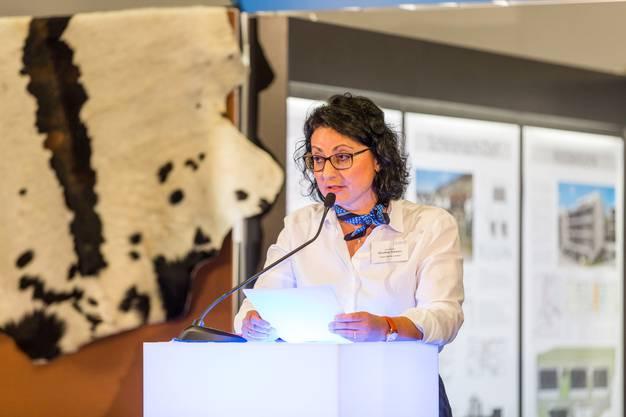 Dorothee Schwarz ist OK-Präsidentin der Lega'17