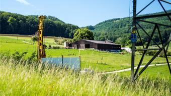 2025 laufen wichtige Konzession der Schweizer Salinen aus. Bis dahin sollen neue Bohrfelder bestimmt sein – darunter die Muttenzer Rütihard.