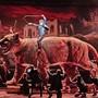 Lässt das Trojanische Pferd alt aussehen: Kampfpuma des Perserkönigs Cyrus (Jakub Józef Orliński)Bild: Herwig Prammer