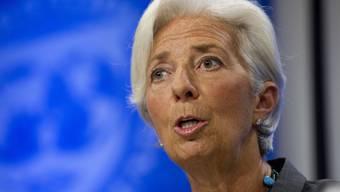 IWF-Chefin Christine Lagarde muss wegen einer umstrittenen Millionenzahlung aus ihrer Zeit als französische Wirtschaftsministerin vor Gericht. (Archivbild)