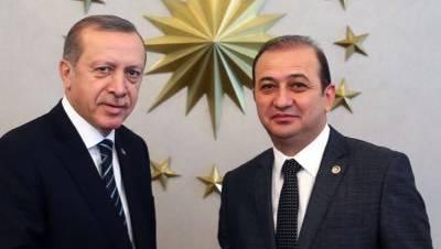 Erdogan und sein Istanbuler AKP-Gefolgsmann Hursit Yildirim.