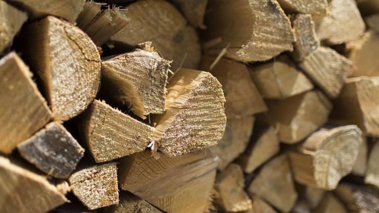 Das Feuer hätte vom Holzstapel auf einen Autounterstand und das Haus übergreifen können. (Symbolbild)