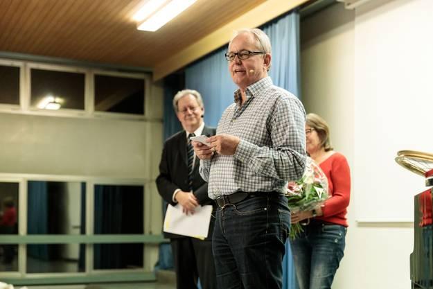 Weibel erzählt ein paar Anekdoten aus seinen 31 Jahren auf der Gemeinde