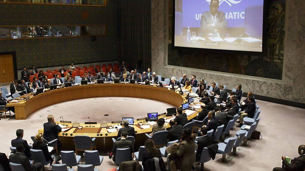 Im UNO-Sicherheitsrat besteht Uneinigkeit über eine Untersuchung zu Berichten über Giftgaseinsatz im Irak. (Archivbild)