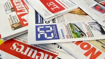Kein Gesamtarbeitsvertrag für Journalisten: Schweizer Tageszeitungen (Archiv)