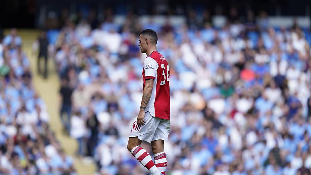 Arsenal kassiert fünf Tor, Xhaka die Rote Karte