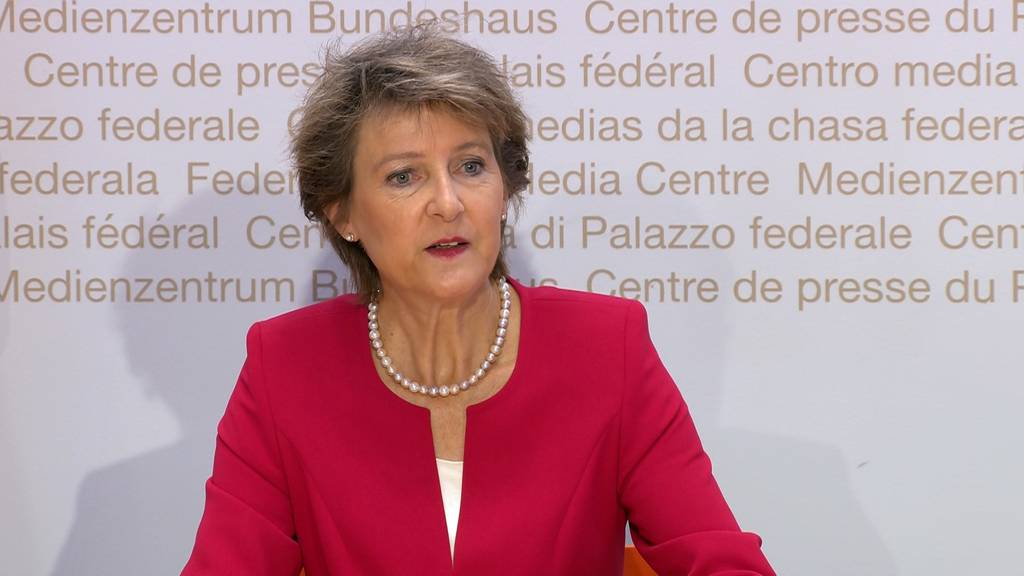 Simonetta Sommaruga zur Strom-Strategie der Schweiz