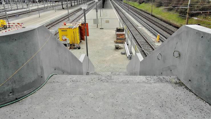 Die SBB wollen mit zwei Zugängen von der Margarethenbrücke die Passarelle entlasten.