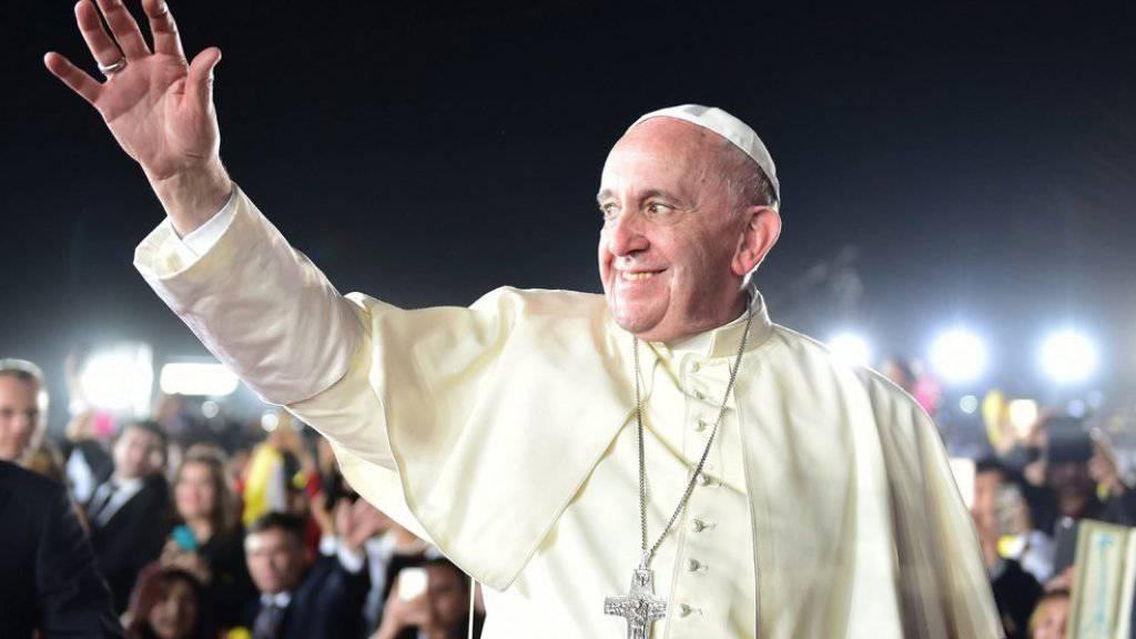 Er verbreitet seine Botschaft ab Samstag auch via Instagram: Papst Franziskus (Archiv)