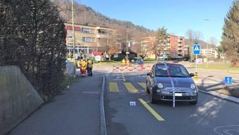 Die Rentnerin wurde auf die Strasse geschleudert und unbestimmt verletzt.
