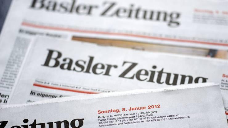 Die BaZ stellt ihre am 8. Januar 2012 lancierte Sonntagsausgabe ein.