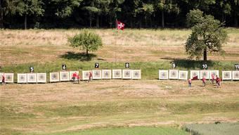 Die Teilnehmerzahlen beim Feldschiessen gingen im Aargau mehrheitlich zurück.
