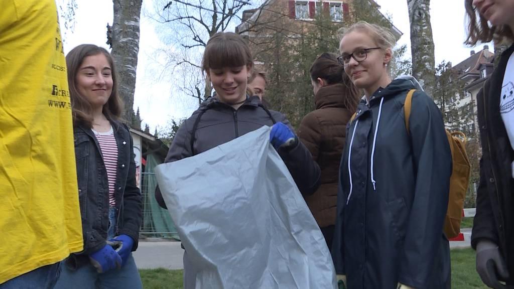 Trash Heroes Bern: Immer mehr Jugendliche opfern Freizeit