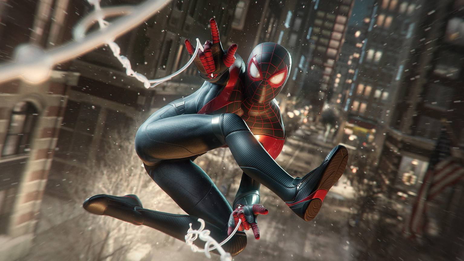 Spider-Man - Miles Morales - in Action