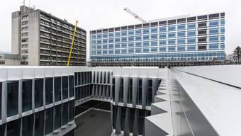 Im Neubau des Bürgerspitals kam es zu einer Rauchenwicklung.