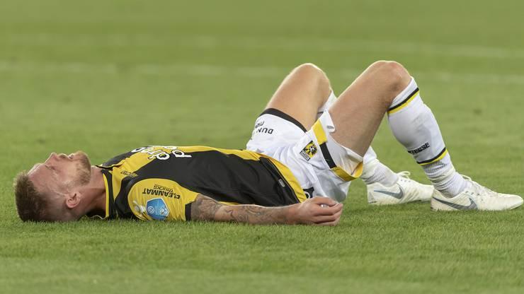 Für Vitesse Arnheim und Maikel van der Werff ist der FCB die Endstation. Die Enttäuschung ist riesig.