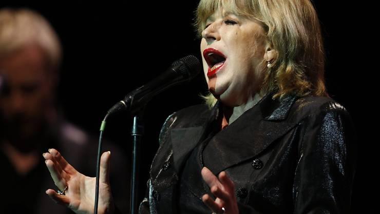 Die britische Sängerin Marianne Faithfull hat sich mit dem Coronavirus infiziert. Sie befindet sich in London in einem Spital. (Archivbild)