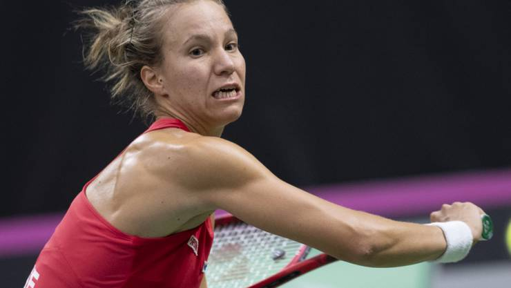 Gegen Sloane Stephens auf verlorenem Posten: Viktorija Golubic