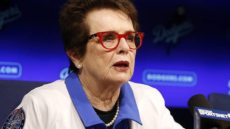 Billie Jean King gibt dem Fed Cup ihren Namen