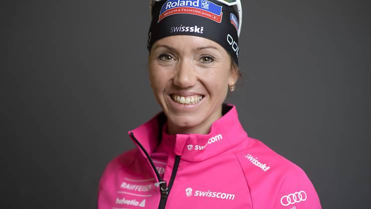 Selina Gasparin verbesserte sich im Verfolgungsrennen in Oberhof um 16 Ränge
