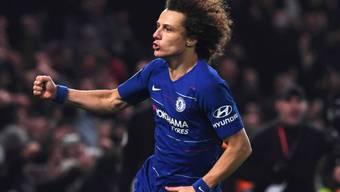 Wechselt innerhalb der Premier League von Chelsea zu Stadtrivale Arsenal: David Luiz