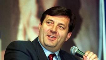 Der Präsident der serbischen Landeshälfte, Milorad Dodik,  will eine Abstimmung unbedingt durchführen. (Archiv)