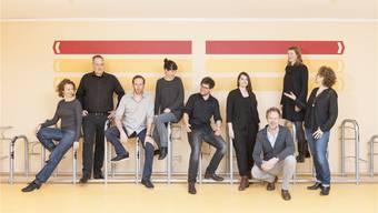 Der Vorstand vom Verband der Basler Kreativwirtschaft.