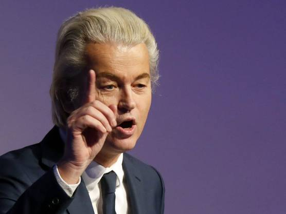 Geert Wilders ist das einzige Mitglied der niederländischen Freiheitspartei, welche bei der letzten Wahl rund 13 Prozent der Stimmen erhielt.