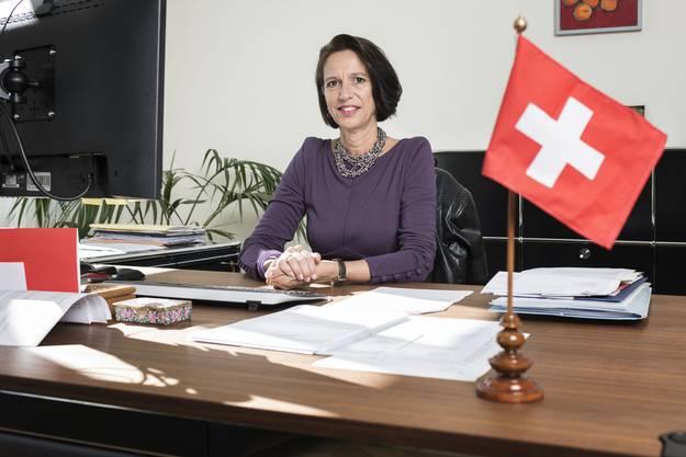 Christine Schraner Burgener ist seit August 2015 Schweizer Botschafterin in Berlin.