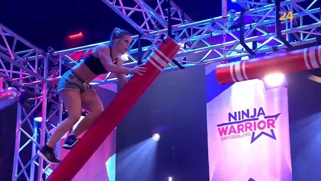 Ninja Warrior Switzerland 2020: Finallauf der einzigen Frau