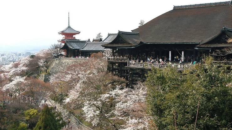 Platz 2: Trotz einem Erdbeben 2011 ist Kyoto immer noch einer der am besten erhaltenen Städte Japans