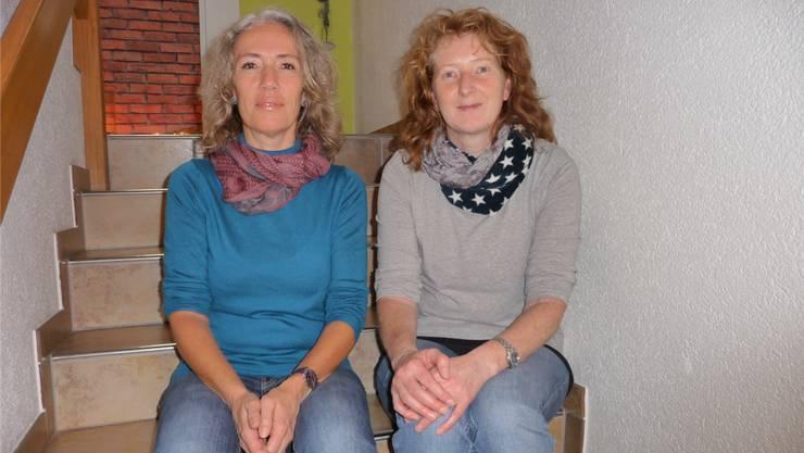 Rita Wüthrich und Susanne Wigger starten mit ihrem Angebot im Februar und hoffen mittelfristig, eine eigene Praxis eröffnen zu können.