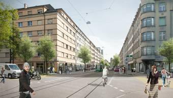 Erneuerung Rosentalstrasse