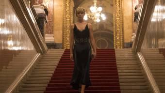 """Jennifer Lawrence spielt in """"Red Sparrow"""". Der Agenten-Thriller wurde am Wochenende vom 8. bis 11. März 2018 in den Deutschschweizer Kinos am besten besucht. (Archiv)"""