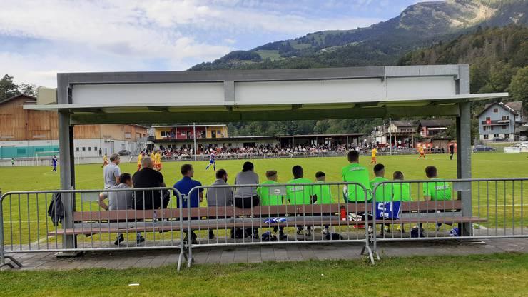 SC Goldau - FC Wohlen: Ein Unentschieden noch kurz vor Schluss.