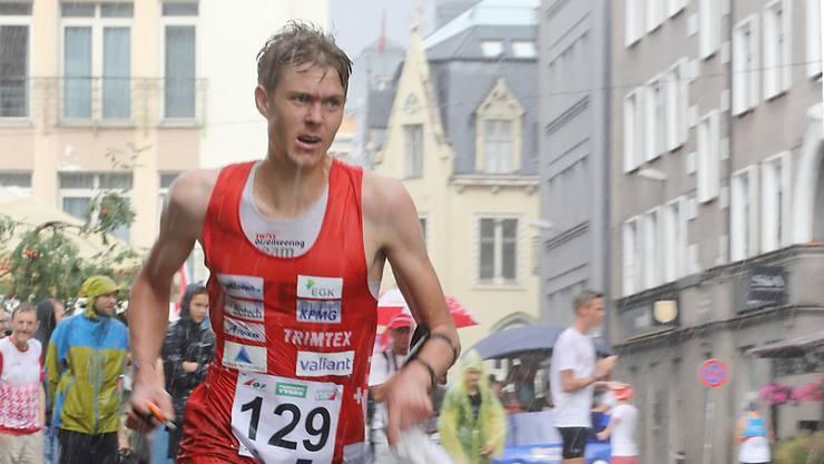 Andreas Kyburz überrascht beim Weltcup-Finale in Prag