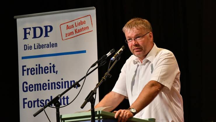 Kantonal-Präsident Christian Scheuermeyer