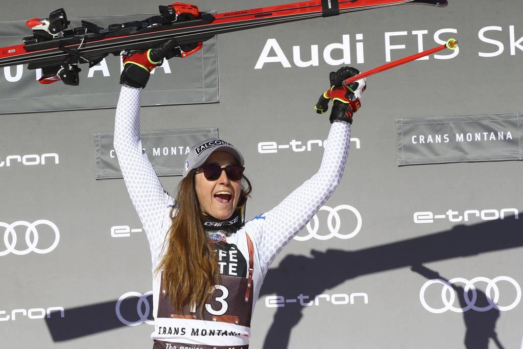 Die Rangliste muss korrigiert werden. Die Italienerin Sofia Goggia ist aber unbestrittene Erste.