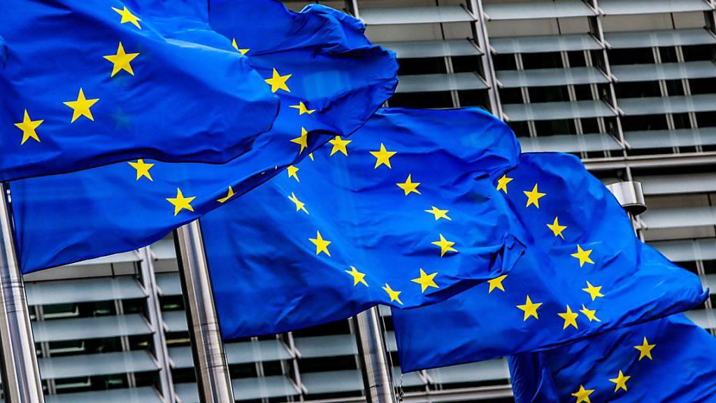 Im Handelsstreit mit den USA sind um Mitternacht die Gegenzölle der EU in Kraft getreten. (Foto: STEPHANIE LECOCQ/EPA)